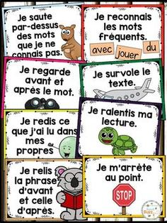 Reading Lessons, Reading Strategies, Guided Reading, Teaching Reading, Teaching Tools, Learning, Teaching French Immersion, Core French, French Resources