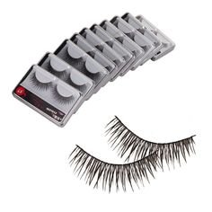 Crazy KandA 10 Pairs Cross False Fake Eyelashes with Glue 57 ** Details can be found by clicking on the image. #beauty