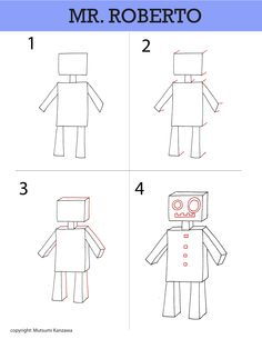 found this a long time ago. Wish I remember the name of person who designed this, Mr. Roboto lesson. So cool!
