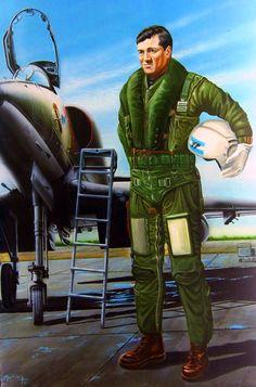 Captain José Daniel Vázquez of the Argentine Air Force, Falklands War
