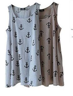 77bccc07843 Anchor shift dress