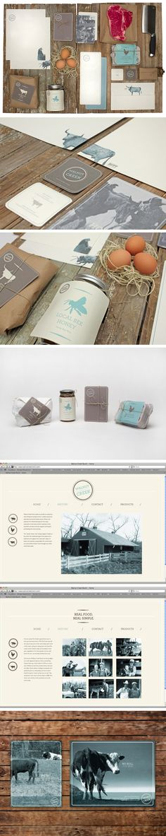 Walnut Creek Ranch by Caitlin Workman #identity #packaging #branding Love this PD