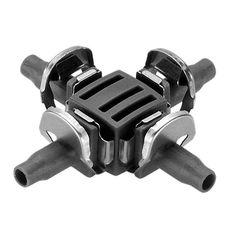 8339 Micro-Drip-System Raccordo 4 Vie 2Pz GARDENA