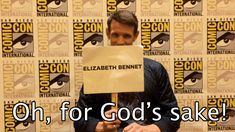 "So we sat down with him at San Diego Comic-Con to play a game of ""Amy Pond or Elizabeth Bennet?"" 