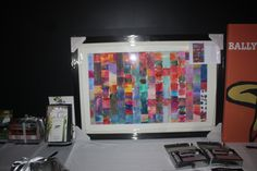 Grade 1 auction artwork on display at our Trivia Night 2014 by Donna Campbell