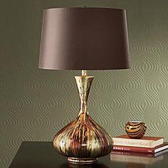 Metallic Watercolor Lamp
