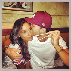 Jasmine and Tobias, really like this couple. Interacial Love, Interacial Couples, Do Love, Cute Love, Divorce, Interracial Family, Black Woman White Man, Blind Love, Bwwm