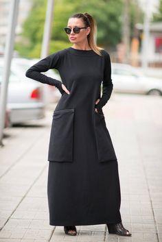 Winter Dresses, Casual Dresses, Fashion Dresses, Long Kaftan Dress, Dress Skirt, Daily Fashion, Plus Size Dresses, Plus Size Outfits, Plus Size Kleidung