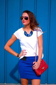 Love by Lynn: Red + White + Blue Day to Night