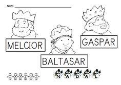 INFANTILCASTELL: materiales, fichas, recursos educación infantil : Nadal
