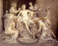 Apollo con le ninfe
