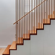 Modern Staircase Design Ideas - Search pictures of modern stairs and discover design and also design ideas to inspire your very own modern staircase remodel, including unique barriers and storage . Home Stairs Design, Railing Design, Interior Stairs, Interior Architecture, House Design, Unique Architecture, Loft Design, Stair Handrail, Staircase Railings