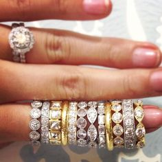 Single Stone makes the best stacking rings