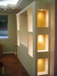 Resultado de imagem para moveis de gesso Decor, Wall Lights, Furniture, Paper Lamp, Room, Lamp, Living Room Decor, Home Decor, Room Divider