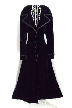 SALE Vintage  Gothic Military jacket Steampunk by shmooozin, $140.00: