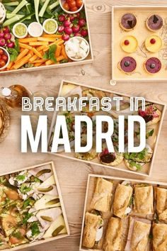 Discover 10 Best Places for Breakfast in Madrid. Breakfast In Madrid, Best Breakfast, Veggie Dishes, Tasty Dishes, Food Dishes, Madrid Travel, Different Recipes, Foodie Travel, Wine Recipes