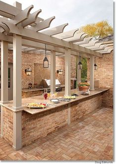 89 Incredible Outdoor Kitchen Design Ideas That Most Inspired 04