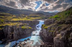 3 in NYC Photo of Iceland's Fossardalur Waterfall - John Fitzgerald Photography