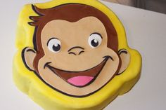 curious george baby shower | Curious George Birthday Cake | Yelp