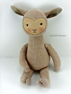 PDF Pattern  Llama Doll by LaliDolls on Etsy, $25.00