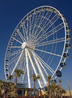 Myrtle Beach SkyWheel...touristy trap maybe but will ride this yr instead of just driving by