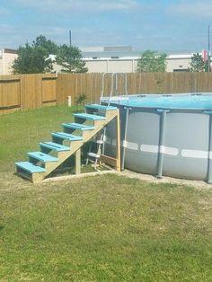 14 mejores im genes de escaleras piscinas for Piscinas pequenas portatiles