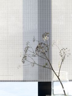 Woodnotes collection on show at Imm Cologne Panel Blinds, Sheer Blinds, Fabric Blinds, Curtains With Blinds, Curtain Fabric, Curtain Hardware, House Blinds, Mood Images, Transparent Design