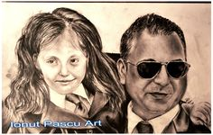 # -Portret in creion  Christian Sabbagh  si Yasmine