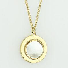 """Love Faith Hope"" Pendant Necklace • Color : Gold, White • Theme : Love, Pearl  • Necklace Size : 18"" + 3"" L • Charm Size : 1"" X 1"" • Mother of Pearl • ""Love Faith Hope"" Pendant Necklace Jewelry Necklaces"