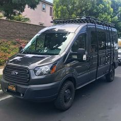 #transittuesday coming in hot with a collection of recent Ford Transits outfitted with Aluminess gear...roof rack, ladder and surfpole/hooks! Benjamin Moore, Mercedes Sprinter Camper, Sprinter Van, Transitional Bedroom, Transitional House, Transitional Lighting, Ford Transit Campervan, Ford Transit Conversion, Corvette