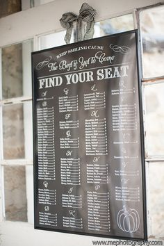 Hey, I found this really awesome Etsy listing at https://www.etsy.com/listing/163569087/wedding-seating-chart-table-seating