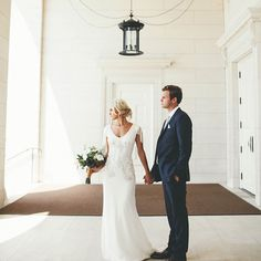 Bride and Groom // Temple Wedding