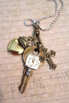 vintage keys are unique