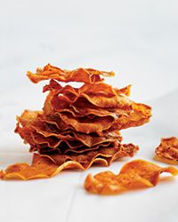 Baked Sweet Potato Chips Recipe on Food & Wine