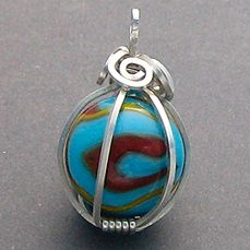 CAGED MARBLE PENDANT TUTORIAL