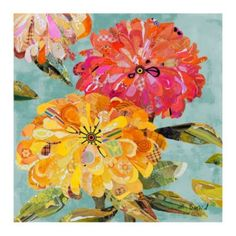 """Beautes Florales Giclee 