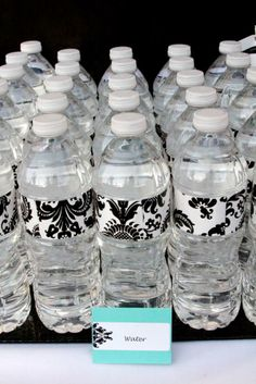 1000 images about water bottle decoration on pinterest for Baby bottle decoration ideas