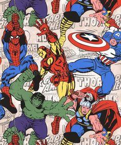 Graham & Brown Marvel Super Heroes Wallpaper 70-467 - Childrens Kids Avengers