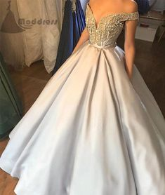 v-neck long prom dress off the shoulder a-line satin evening dress prom gowns,HS335 #fashion#promdress#eveningdress#promgowns#cocktaildress