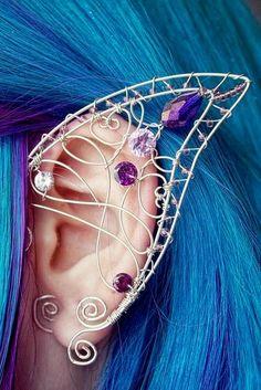 Crystal cartilage piercing earrings