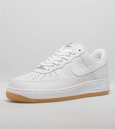 RESTOCK. Nike Air Force 1 LV08 Croc Gum White. http://thesolesupplier.co.uk/products/nike-air-force-1-lo-white-gum/