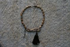Carved bone fish faceted picture jasper beads flat in by vimade, €40.00