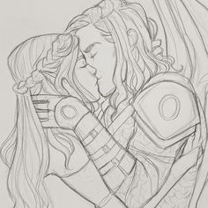 Passionate kiss / people / past medieval / love / male and female / pair / emotion A Court Of Wings And Ruin, A Court Of Mist And Fury, Character Inspiration, Character Art, Character Design, Fanart, Roses Book, Feyre And Rhysand, Book Hangover