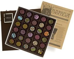 Receive an assortment of chocolate treasures delivered right to your door every month. Join The Gourmet Chocolate of The Month Club!