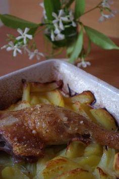 Cuisses de canard au four. les recettes de Julie