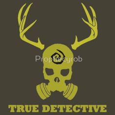 True Detective - Gas Mask - Yellow