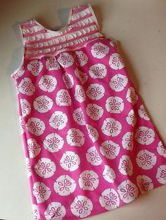 Ellie Inspired pattern, Chez Ami fabric