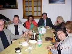 Team ASEA UK having dinner in Rome