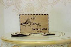 Custom Wedding Card BoxWedding Card Box Rustic Wood card