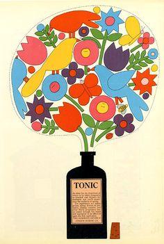squaredoor:    Arnold Varga, Joseph Horne Co. advertisement, 1965